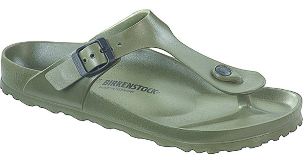 Birkenstock Gizeh eva khaki voor normale voet