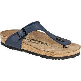 Birkenstock Gizeh blue for narrow feet