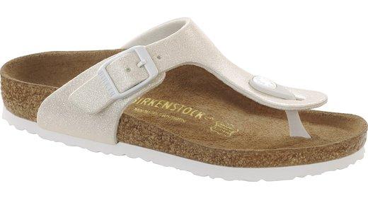 Birkenstock Birkenstock Gizeh kids magic galaxy wit voor normale voet