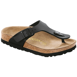 Birkenstock Gizeh kids black for normal feet