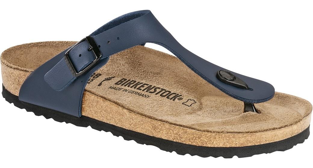 Birkenstock Gizeh blauw voor normale voet