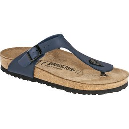 Birkenstock Gizeh blue for normal feet