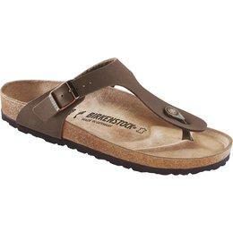 Birkenstock Gizeh nubuck mocca for nomal feet