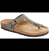 Birkenstock Birkenstock Gizeh nubuck stone voor normale voet