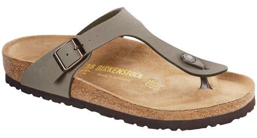 Birkenstock Birkenstock Gizeh nubuck stone for normal feet