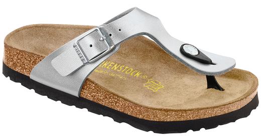 Birkenstock Birkenstock Gizeh kids silver for wide feet