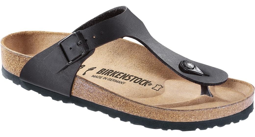Birkenstock Gizeh zwart voor normale voet