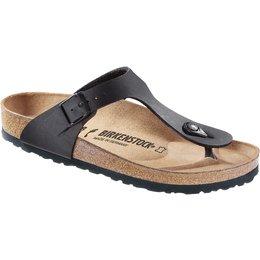 Birkenstock Gizeh zwart voor smalle voet