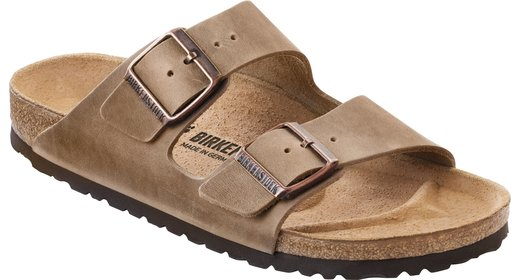 Birkenstock Birkenstock Arizona tabacco oiled leather for wide feet