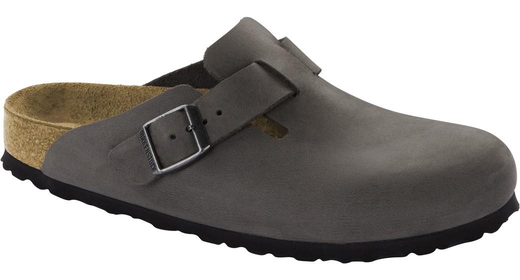 Birkenstock cl Boston Iron regular Oiled Leather