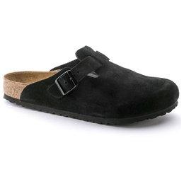 Birkenstock Boston soft footbed Black narrow Suede Leather