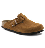 Birkenstock Birkenstock Boston suede leather mink soft footbed