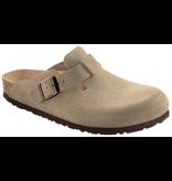 Birkenstock Birkenstock Boston suede leather taupe soft footbed - Copy