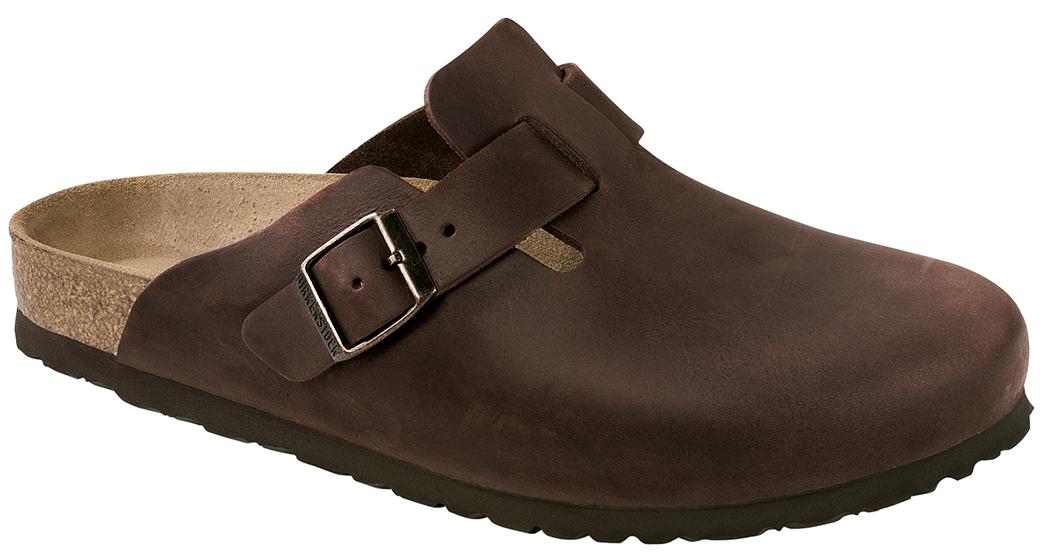 Birkenstock Boston habana leather for normal feet
