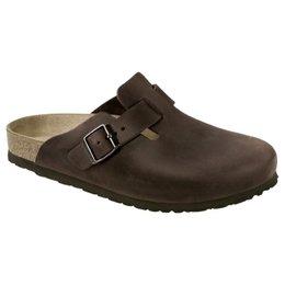 Birkenstock Boston habana leather for wide feet