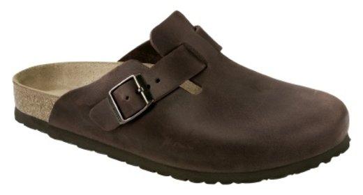 Birkenstock Birkenstock Boston habana leather for wide feet