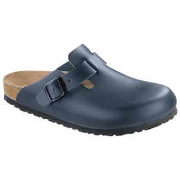 Birkenstock Boston blue leather for normal feet