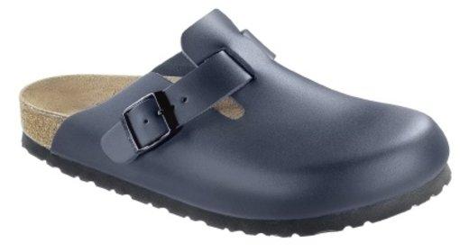 Birkenstock Birkenstock Boston blue leather for wide feet