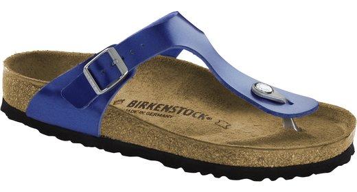 Birkenstock Birkenstock Gizeh electric metallic ocean voor normale voet