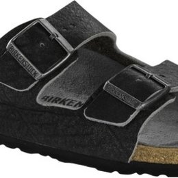 Birkenstock Arizona vintage anthracite leather for normal feet