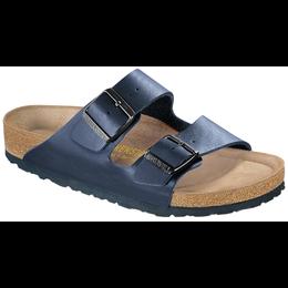 Birkenstock Arizona blauw met zacht voetbed voor brede voet