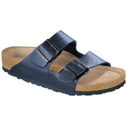 Birkenstock Arizona blue with soft insole for wide feet