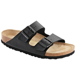 Birkenstock Birkenstock Arizona zwart met zacht voetbed voor normale voet