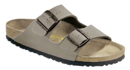 Birkenstock Birkenstock Arizona nubuck stone for normal feet
