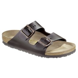 Birkenstock Arizona dark brown leather for wide feet