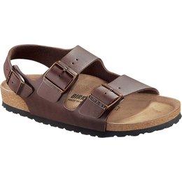 Birkenstock Milano dark brown for nomal feet