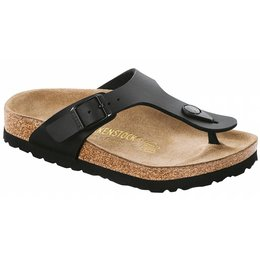 Birkenstock Gizeh kids black in 2 widths