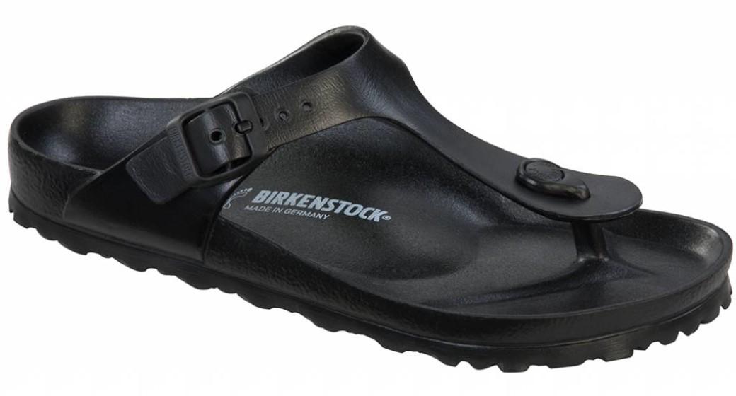Birkenstock Gizeh eva beach sandal black
