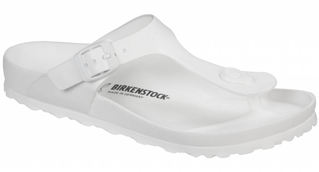 Birkenstock Gizeh eva beach sandal white