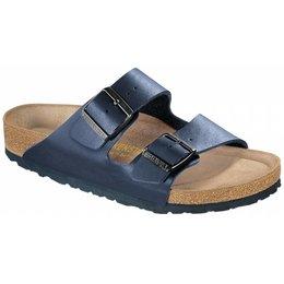 Birkenstock Arizona blauw met zacht voetbed