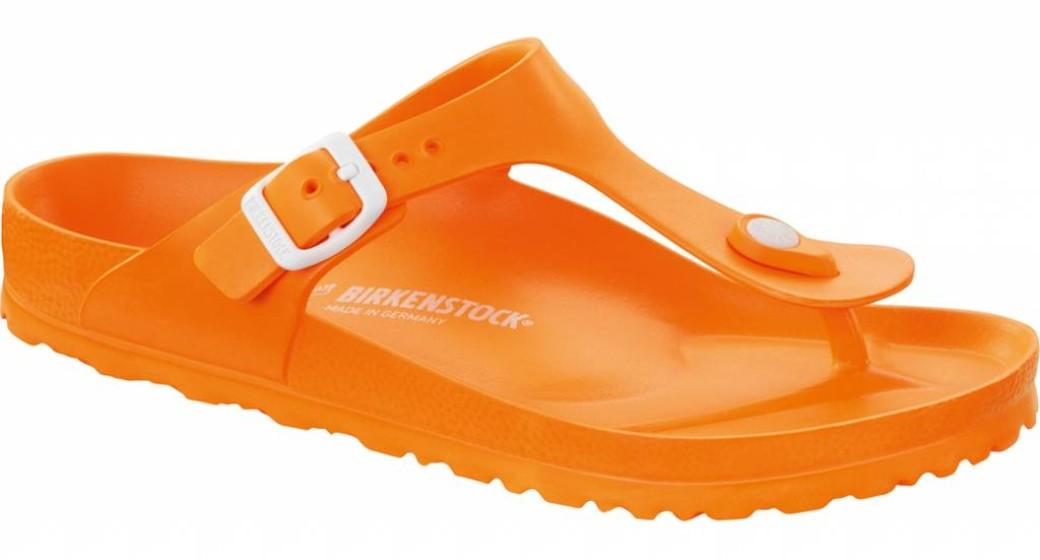 Birkenstock Gizeh kids eva neon oranje 30