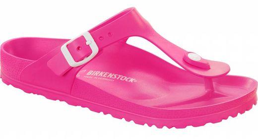 Birkenstock Birkenstock Gizeh kids EVA neon pink