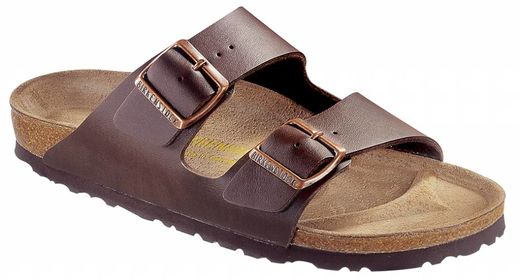 Birkenstock Birkenstock Arizona donkerbruin in 2 breedtes