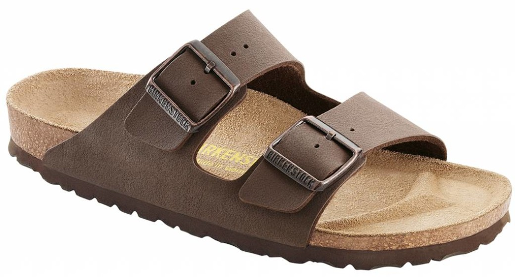 Birkenstock Arizona nubuck mokka breed