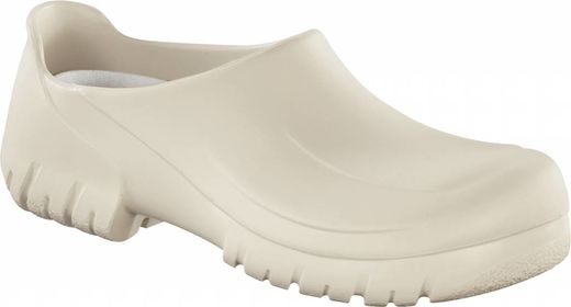 Birkenstock Birkenstock A640 safety clog white with steel nose