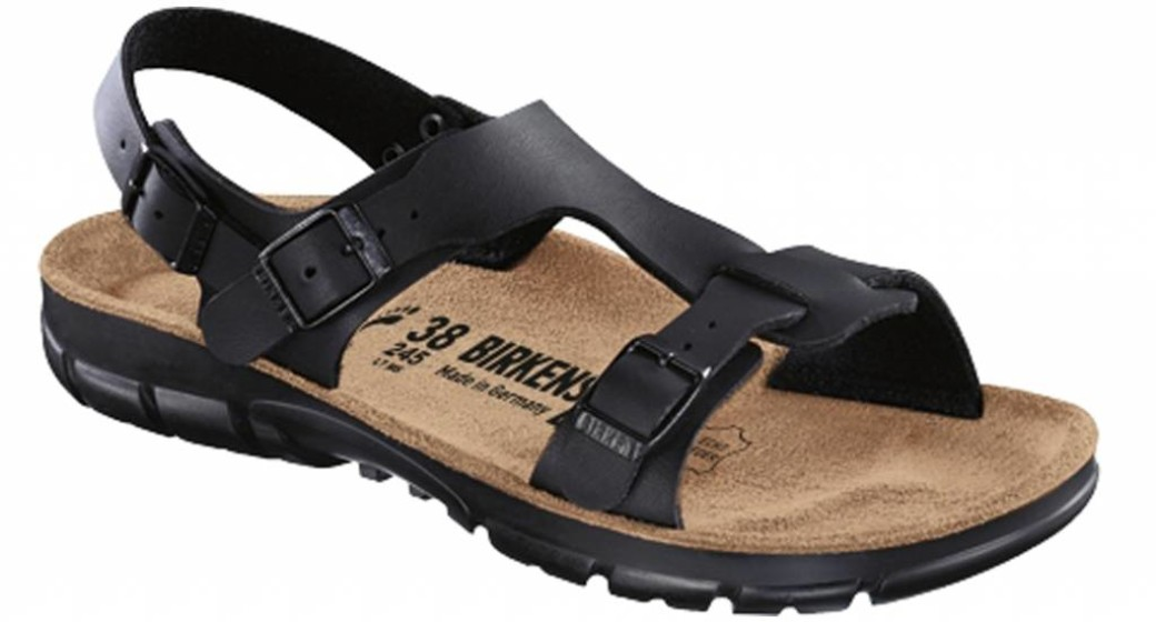 Birkenstock Saragossa black with flexible sole