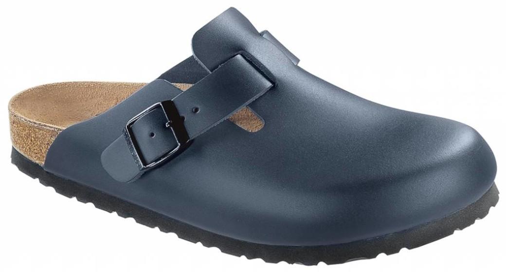 Birkenstock Boston blue leather