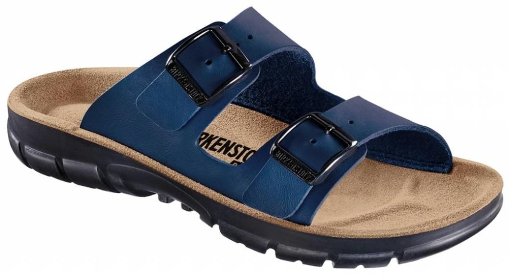 Birkenstock Bilbao blue with flexible sole, in 2 widths