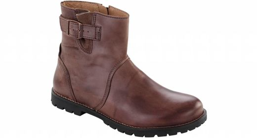 Birkenstock Birkenstock Stowe women brown leather in 2 widths