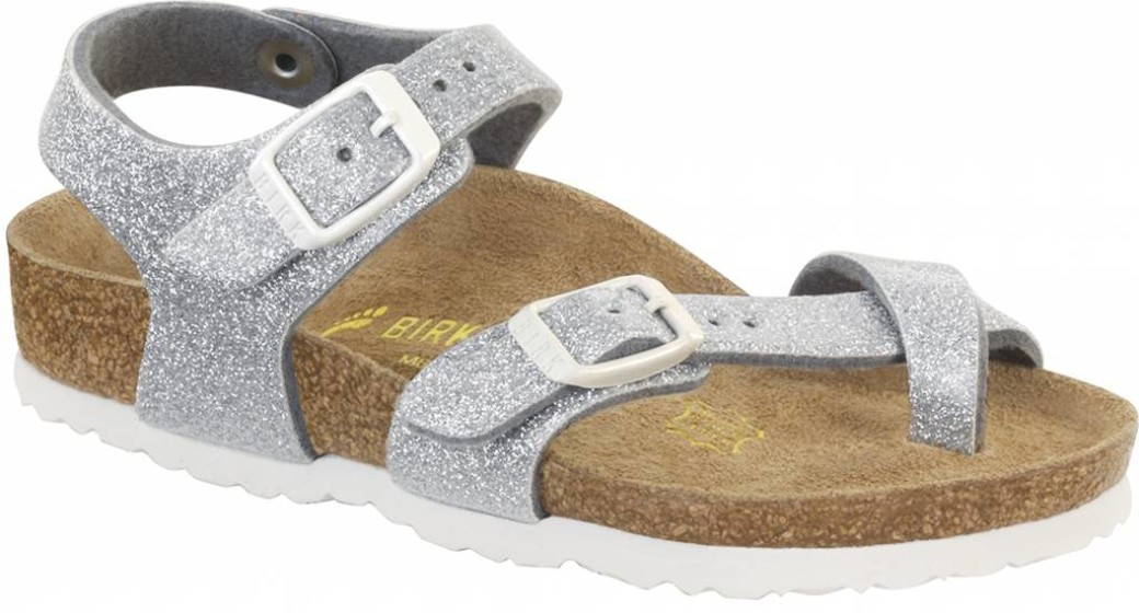 Birkenstock Taormina kids magic galaxy zilver