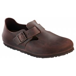 Birkenstock London habana leer