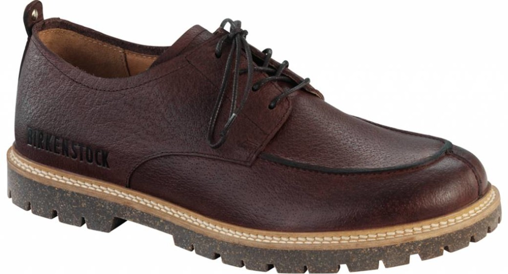 Birkenstock Timmins brown leather