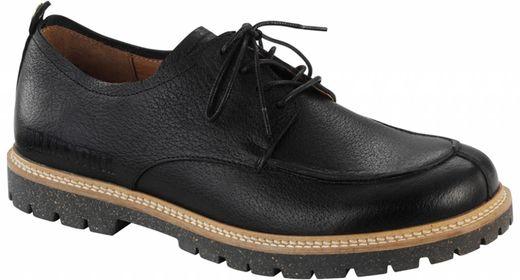 Birkenstock Birkenstock Timmins black leather wide