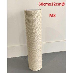 RHRQuality Poteau sisal 50x12 M8