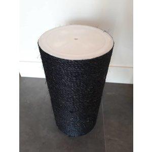 RHRQuality Poteau sisal 50x20 M10 BLACKLINE