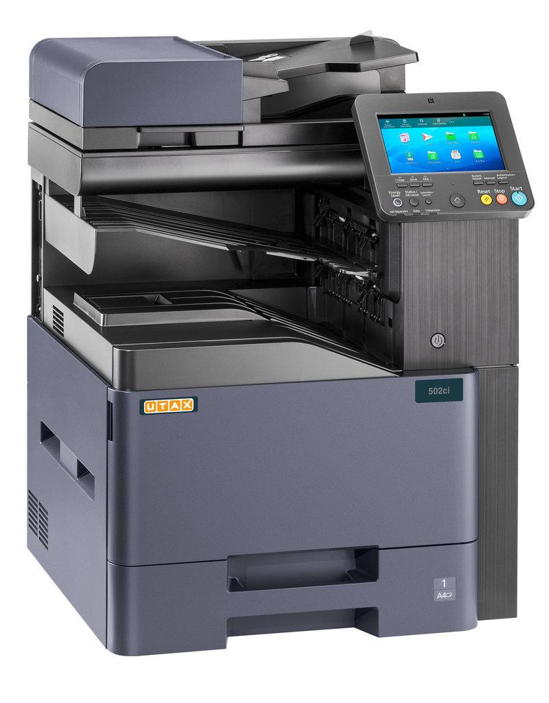 UTAX 502ci- 50 brillante Farbseiten in nur einer Minute!